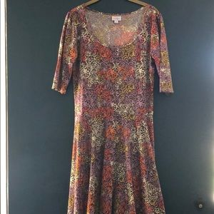 Fall Colored LuLaRoe Nicole
